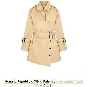 Banana Republic x Olivia Palermo trench, BNWT!!